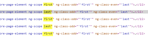 If we inspect it, we can see it's adding the correct class to our DOM elements.