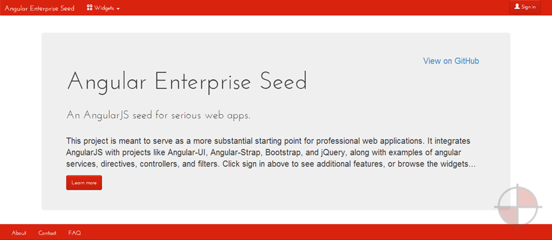 An AngularJS seed for serious web apps.