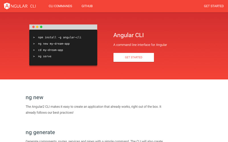 Angular CLI is released and can bootstrap Angular 2 apps