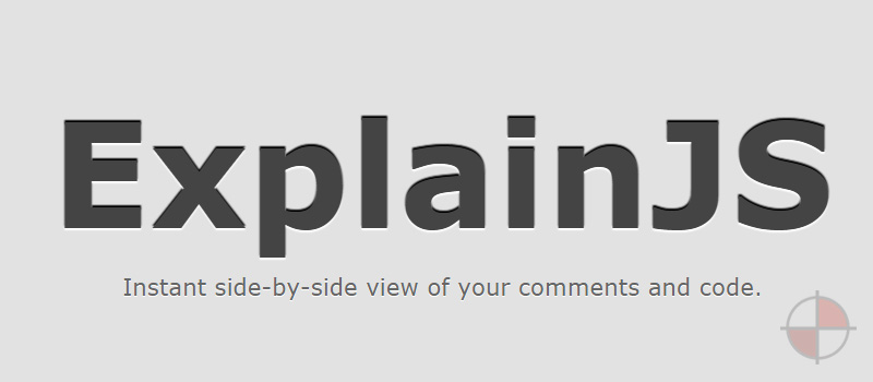 Instant side-by-side view of your comments and code. There is also an AngularJS Docs Demo.