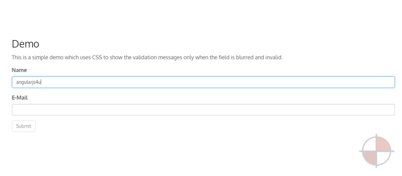 A model centric approach to AngularJS form validation.