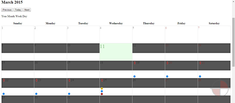 A port of the bootstrap calendar widget to AngularJS (no jQuery required!).