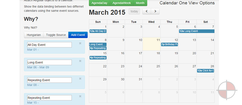 Calendar Booking Ui : Angularjs calendars examples u