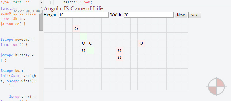 Game of Life AngularJS