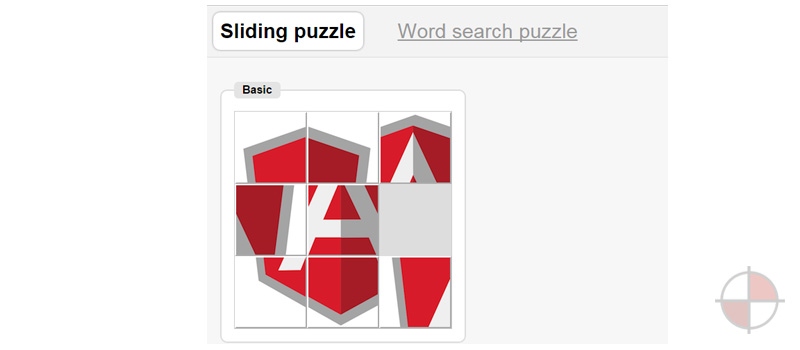 Sliding Puzzle AngularJS