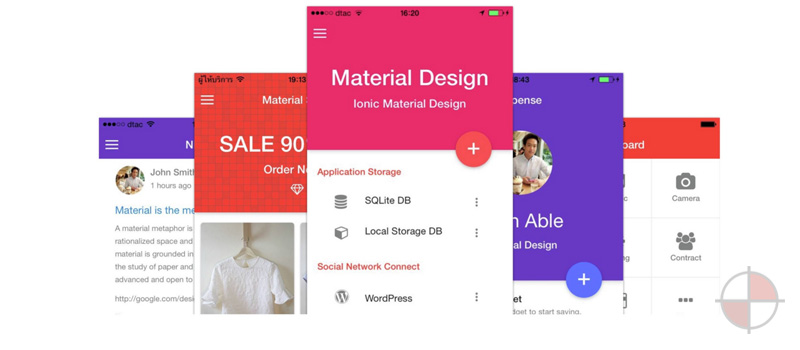 AngularJS-Ionic-Theme-Material-Design