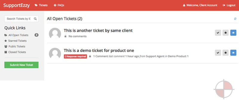 SupportEzzy Ticket System - AngularJS WordPress Plugin