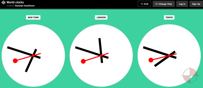 Angular Clocks