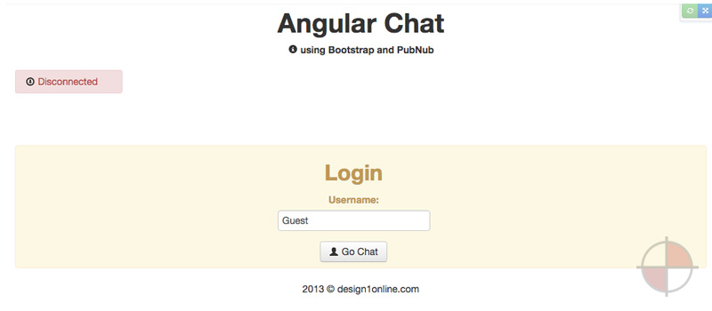 Plunkr Angular Chat Demo (2013)