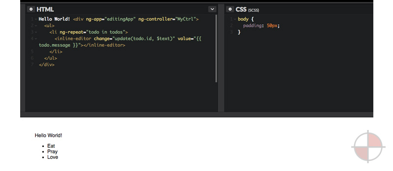 Codepen NG2 Inline Edit Example