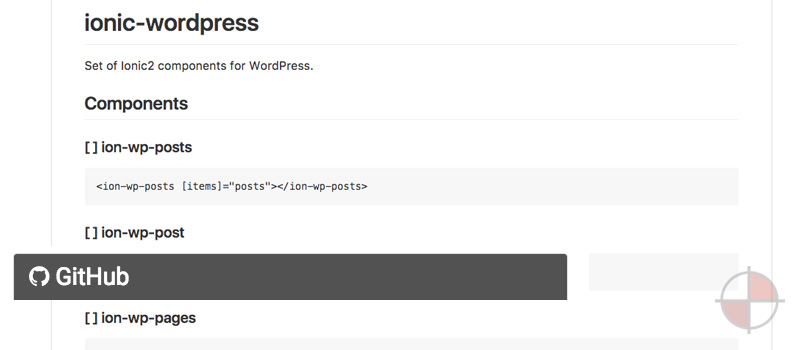 angular2 Ionic wordpress
