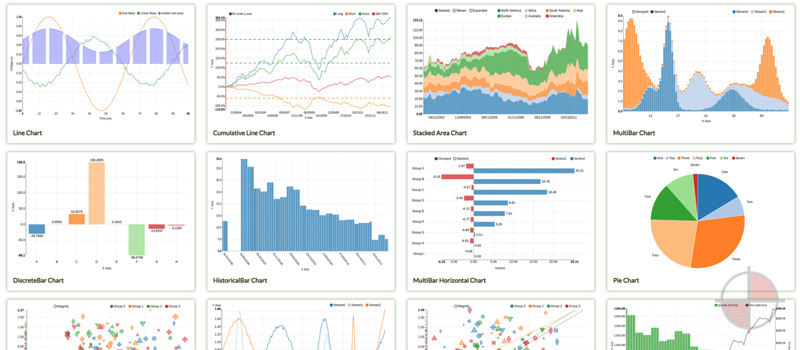 nvD3 Angular Charts and Graphs