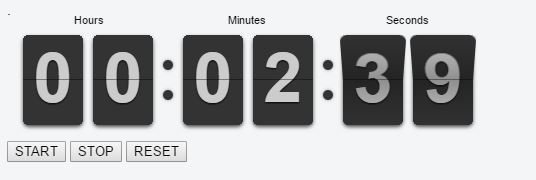 Angular 2 FlipClock
