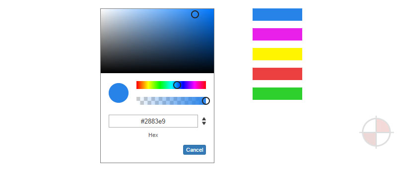Angular2 Color Picker Directive