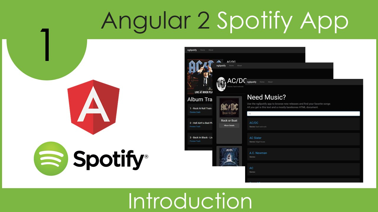 Building a Spotify App using Angular 2