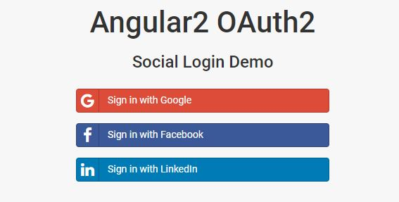 Cuppa Angular 2 oAuth Tutorial