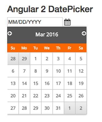 Simple Angular 2 Datepicker1