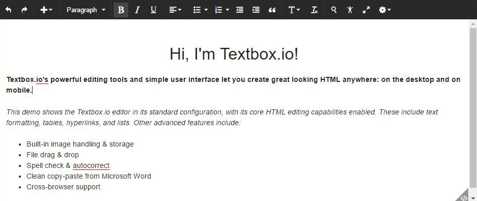 TextBox.io