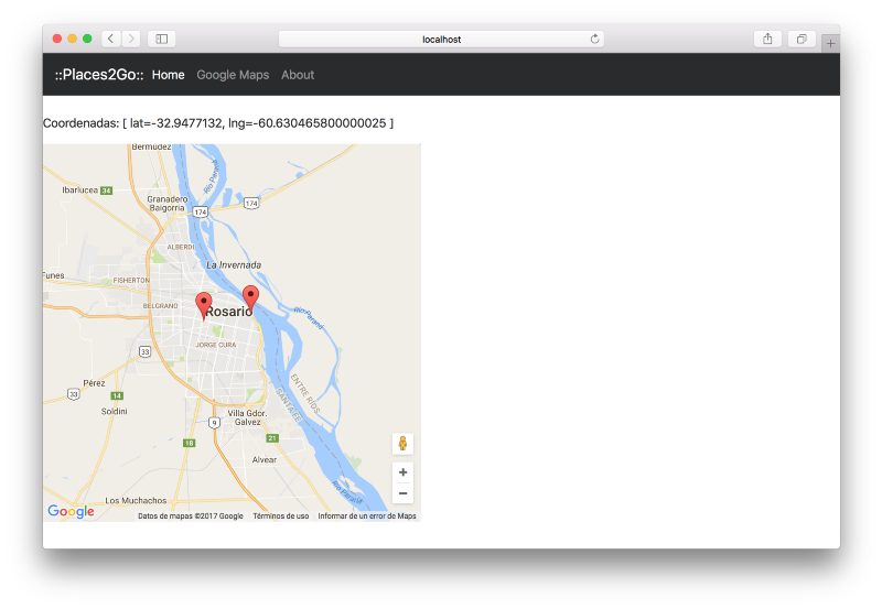 Angular 2 and Google Maps Example